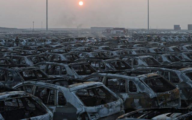 โฟล์คสวาเกนสูญเสียรถยนต์ใหม่หลายพันคันให้กับลูกไฟของจีน