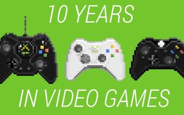 वीडियो गेम में पिछले 10 वर्षों के 10 सबसे बड़े बदलाव