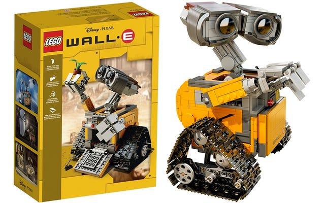 Lego наконец-то официально представила свой новый набор WALL • E