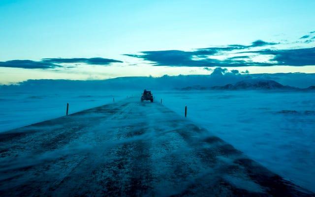 Comment les jeeps ont récupéré l'Islande et comment la suie diesel la ravit