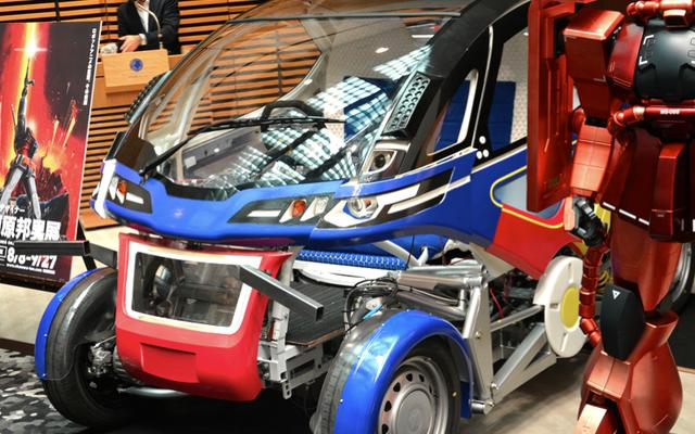 Gundam Designer crée une voiture inspirée de Mecha