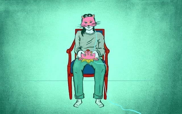 ビデオゲームの猫が人々の魂を救う短編小説を読む