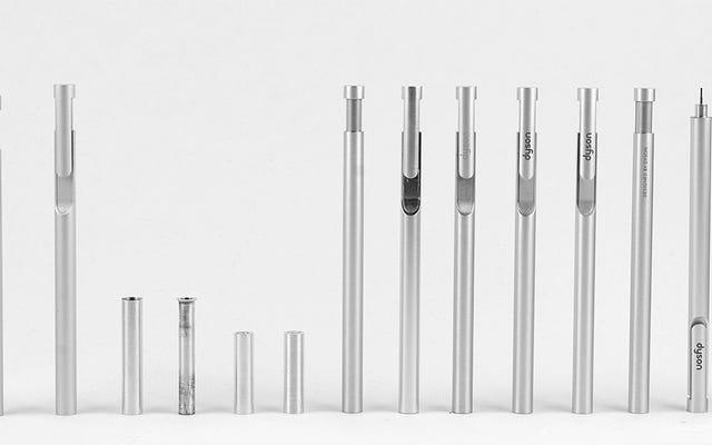 Même les stylos de bureau Dyson sont magnifiquement conçus