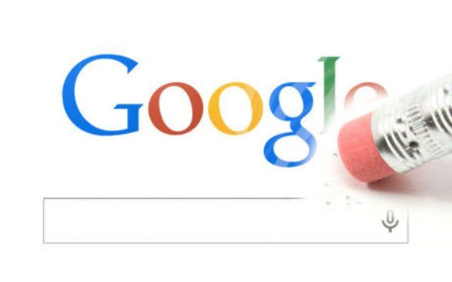 グーグルはストーリーへのリンクを削除するように命じたグーグルについてストーリーへのリンクを削除する