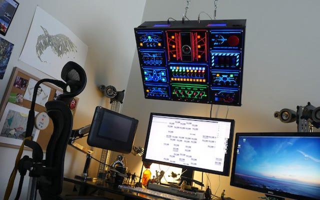 Construya su propio panel de control de computadora completamente funcional