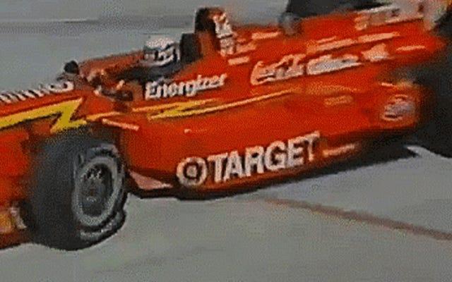 アレックスザナルディがドーナツをレース後の選択のお祝いにした方法