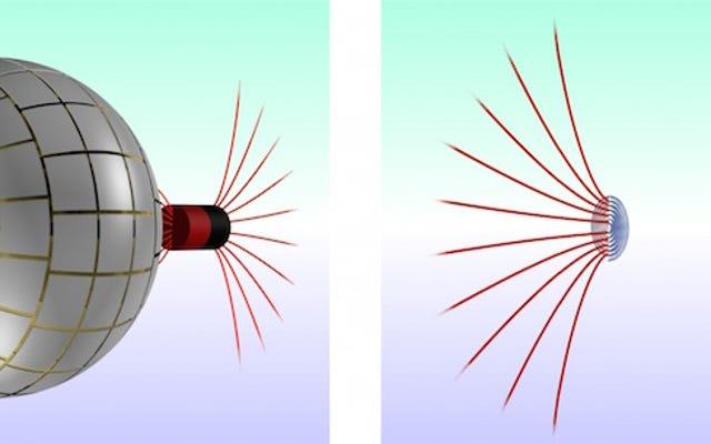 非常に最初のワームホールデバイス—磁石用!