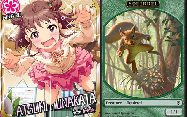 奇妙なミーム:アニメカードとマジックザギャザリングの比較