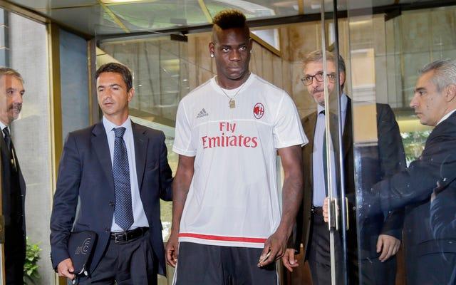 Mario Balotelli erhält eine weitere letzte Chance und kehrt zum AC Mailand zurück