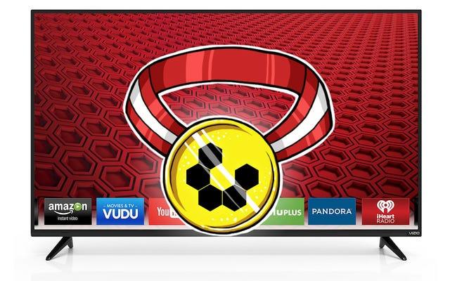 最も人気のある低価格HDTV:VIZIO E50-C150インチスマートLEDHDTV