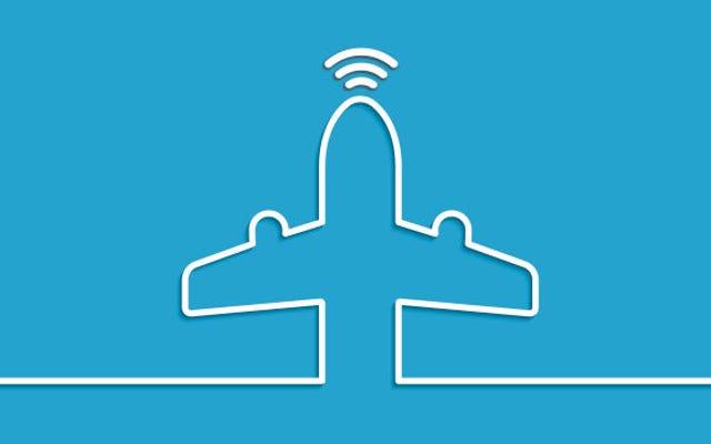 FAAは、吸い込まない可能性のある機内インターネットを承認します