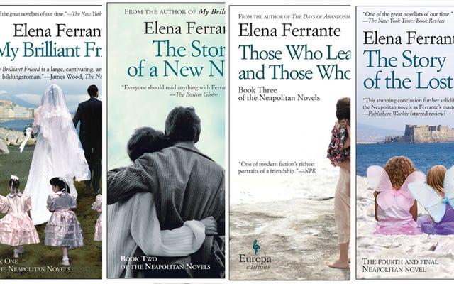 著者エレナ・フェランテ:「私はフェミニスト思想の情熱的な読者です」