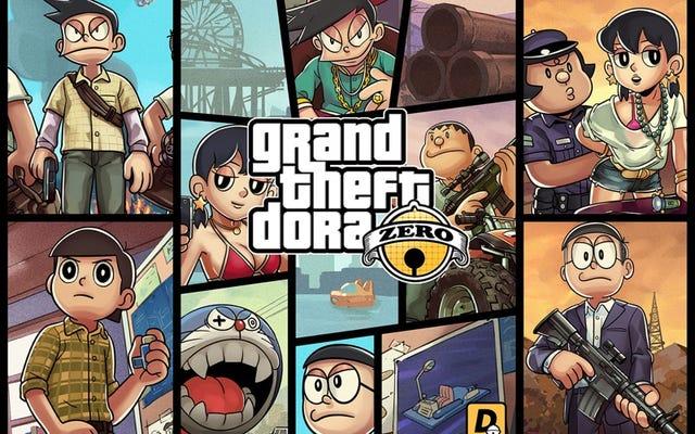 Grand Theft Auto sería un lindo anime