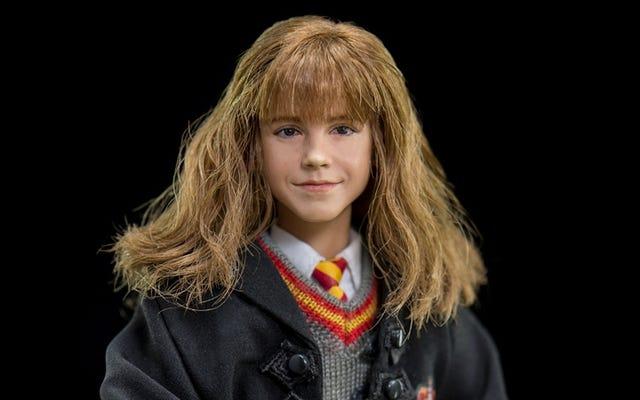 Hanya Sihir Yang Bisa Membuat Sosok Hermione Granger Ini Jadi Seperti Manusia Hidup