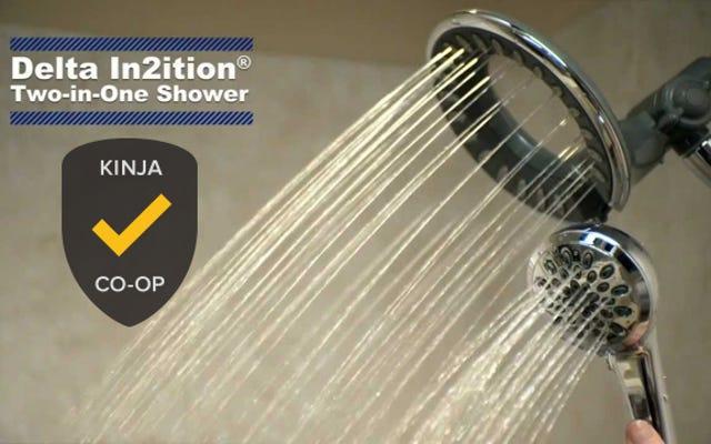 最も人気のあるシャワーヘッド:Delta In2ition、Plus Alternatives