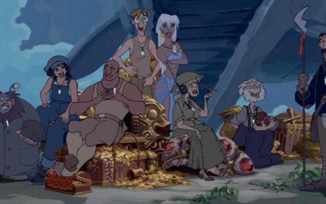 Atlantis: The Lost Empire เป็นอัญมณีที่สวยงามของภาพยนตร์ที่สมควรได้รับดีกว่าที่มี
