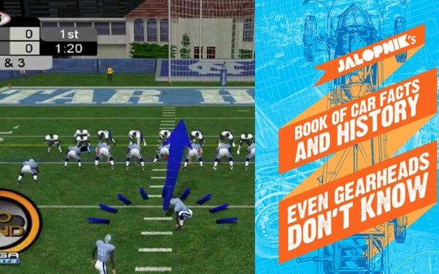 Зачем покупать NCAA Football 2K3 для PS2, если вы можете получить электронную книгу Jalopnik?