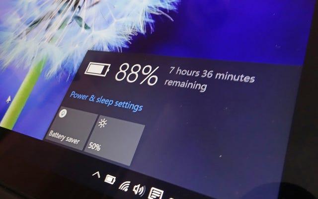 So maximieren Sie die Akkulaufzeit unter Windows 10