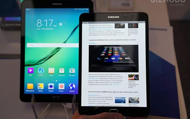 Galaxy Tab S2、タッチダウン:退屈な完璧さ