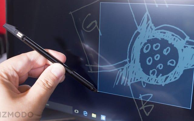 Un lápiz óptico con supercondensador es lo mejor de las nuevas computadoras portátiles de Lenovo
