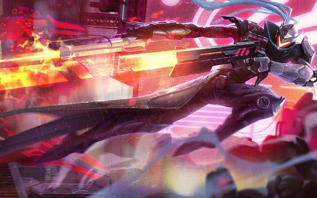 Queste nuove skin Robo per League Of Legends sono fantastiche