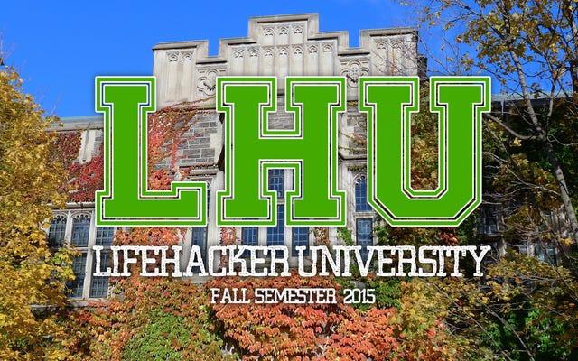 Спланируйте бесплатное онлайн-образование на Lifehacker U: осенний семестр 2015 г.
