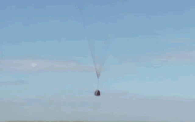 穏やかな分離から残忍な制御された衝突までのソユーズの「ソフトランディング」をご覧ください