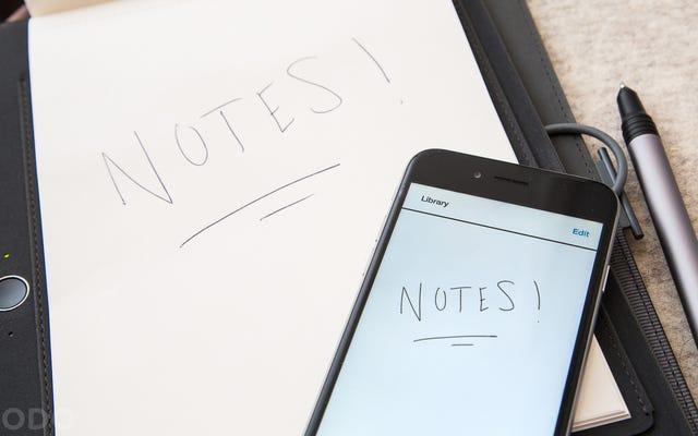 ワコムの新しいデジタル化ノートブックは私をペンと紙に戻すことができます