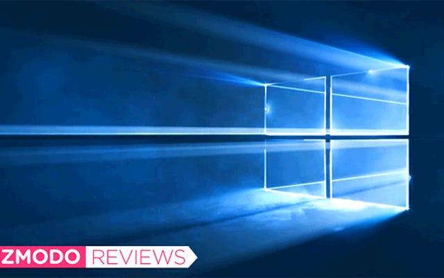 Windows 10: la revue Gizmodo