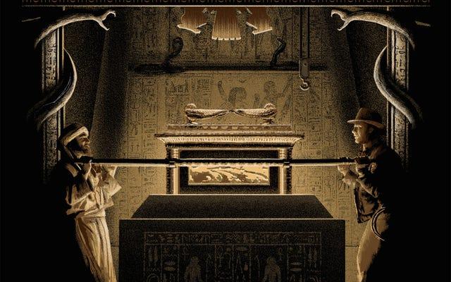 Áp phích Indiana Jones mới này thuộc trong một viện bảo tàng, nhưng bạn có thể sở hữu nó