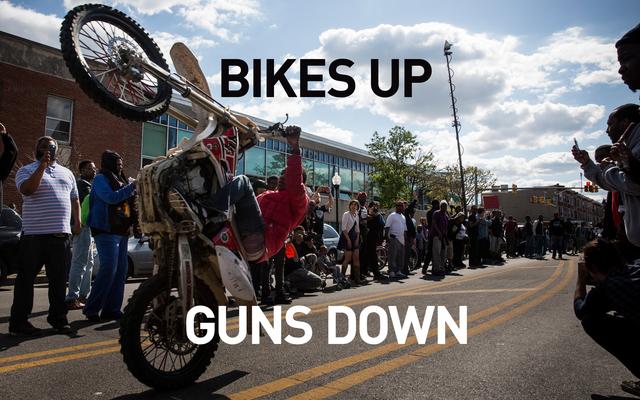 Les flics de Baltimore ont trouvé un nouvel ennemi: les motards de terre