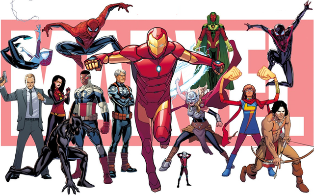 マーベルの「まったく新しい、まったく異なる」コミックユニバースについて知っておくべきことすべて