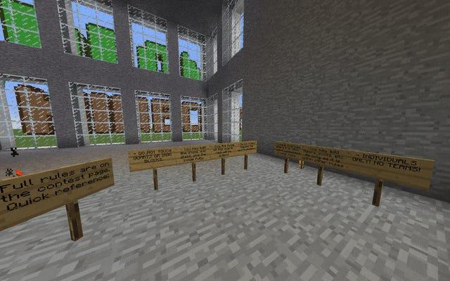 Les Minecrafters ont construit les plus belles maisons à partir d'un simple bloc