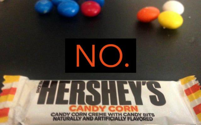 Candy Corn Is Trash e le barrette Candy Corn di Hershey sono un abominio contro Dio