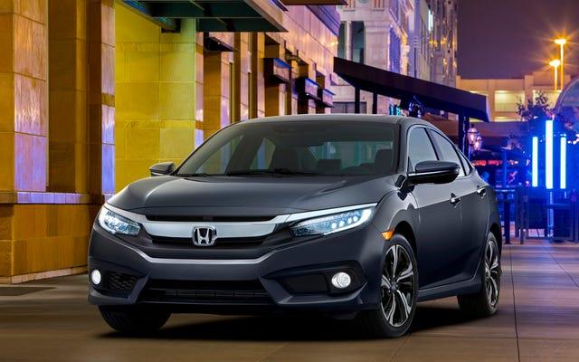 2016 Honda Civic Sedan: İşte Bu