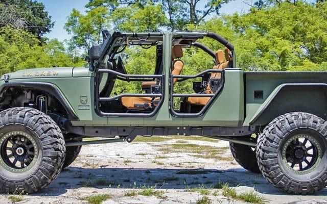 この180,000ドルのラングラーはピークジープピックアップトラックです