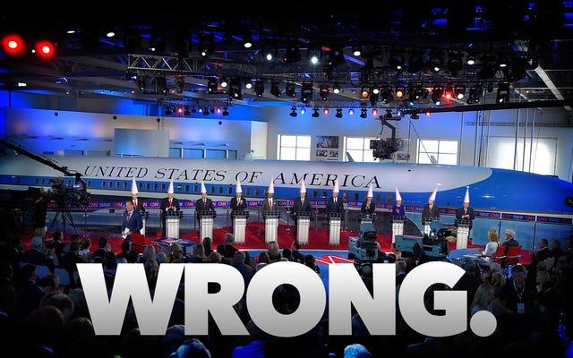 昨夜の共和党の議論が科学について危険なほど間違っていたすべての方法