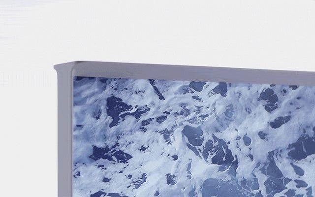 サムスンの新しい「セリフ」テレビはテクノロジーよりもデザインに重点を置いています