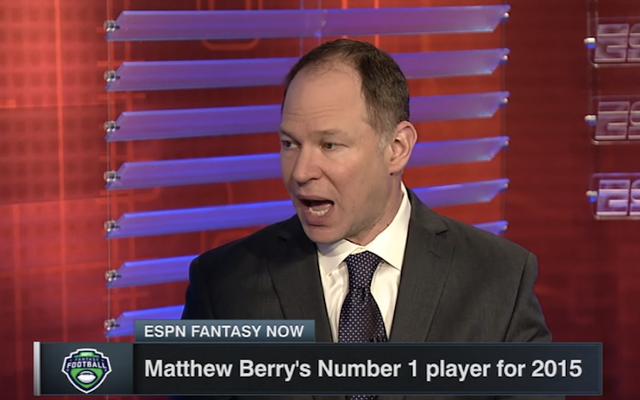 Matthew Berry d'ESPN vend sa crédibilité à DraftKings
