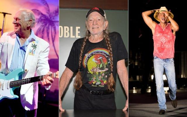 Willie Nelson, Jimmy Buffett, Kenny Chesney: Stony Bro Inspo della Fashion Week