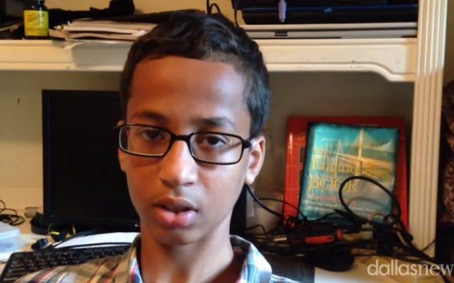 アーメド・モハメドのテキサス高校は彼を取り戻したい、アーメドは「ナ」のようだ