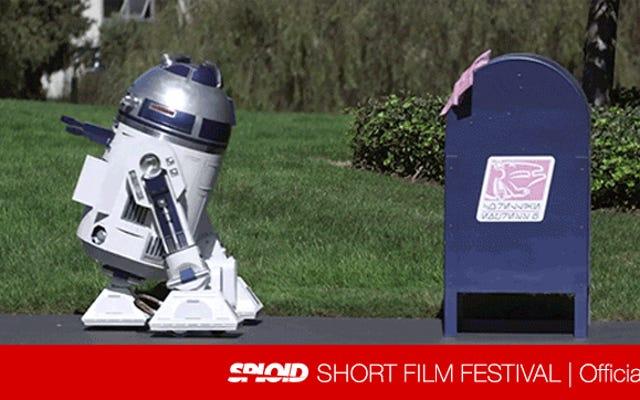 R2-D2はこの超かわいい映画のメールボックスに愛らしい恋をします
