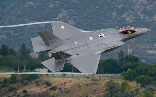 Hill AFB'nin Kulesinde Uçan Bir F-35A'nın Bu Tatlı Çekimlerine Bakın