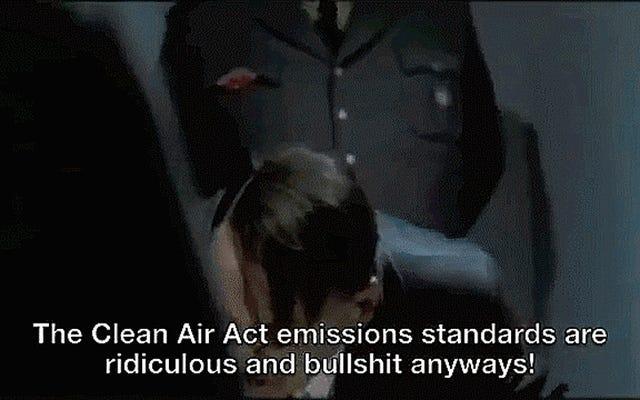 Hitler est naturellement énervé par le scandale du diesel de Volkswagen