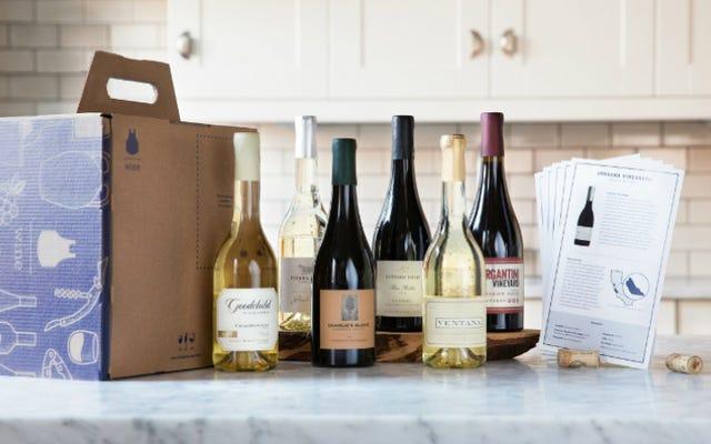 ブルーエプロンがあなたの家にワインを出荷し、あなたをさらに怠惰にします