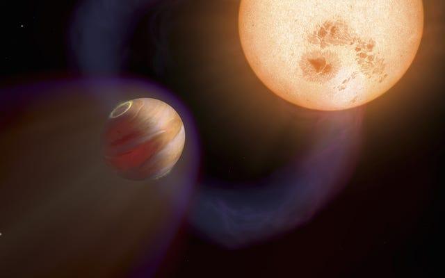 このスピード違反の太陽系外惑星の衝撃波が地球上で検出されたばかりです