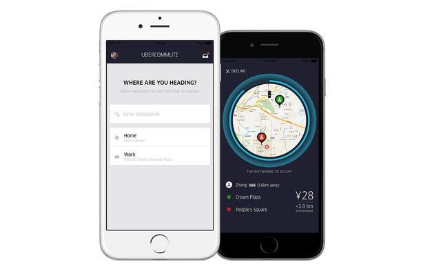 Uber uruchamia usługę Carpooling — najpierw w Chinach, potem na całym świecie