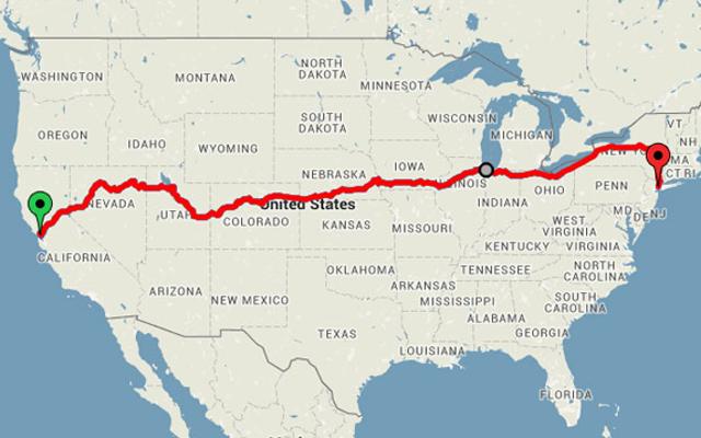 500ドル未満で電車で米国を横断するロードトリップに参加する