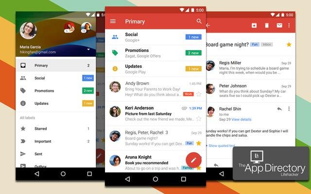 ไคลเอนต์อีเมลที่ดีที่สุดสำหรับ Android