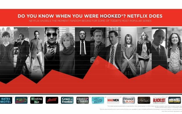 Netflixは、どのエピソードが各シリーズにあなたを夢中にさせるかを正確に知っています
